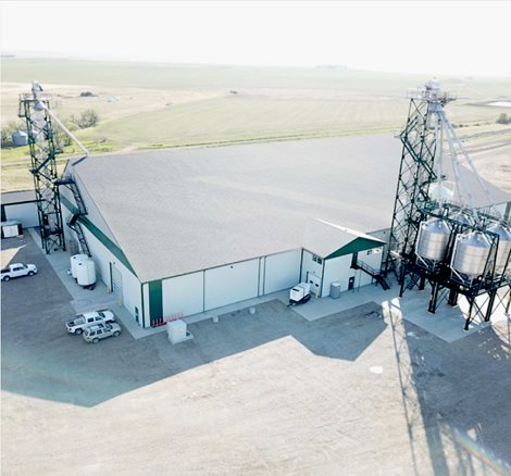 Fertilizer Facility - 20,000 MT Flat Storage Facility