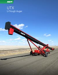 AGI UTX U-Trough Auger