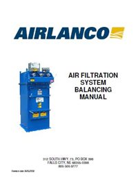 Air Filtration System - Balancing Manual