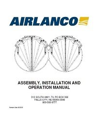 AirAuger - Assembly, Installation, Operation Manual