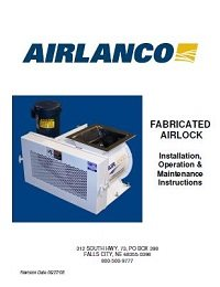 Fabricated Airlock - Installation, Operation, Maintenance Manual