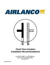 Flush Floor Aeration - Installation Manual