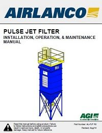 Pulse Jet Filter - Installation, Operation, Maintenance Manual