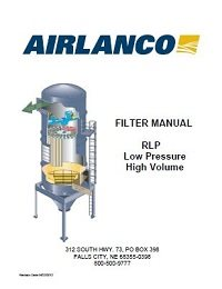 RLP Filter - Installation, Operation, Maintenance Manual