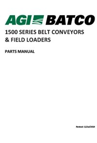 1500 Series Belt Conveyors