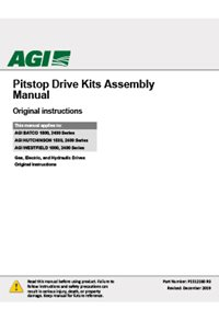 Pitstop Drive Kits Assembly Manual