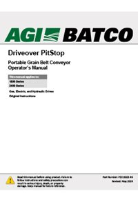 Pitstop (driveover) operation manual