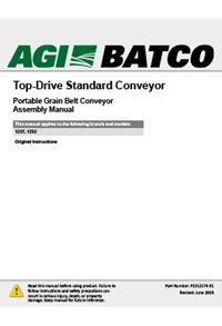 Top-drive standard conveyor(1200 series) assembly manual