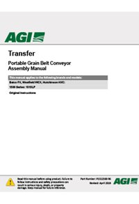 Transfer conveyor assembly manual