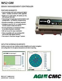 WS2-GM Grain Management Controller Datasheet