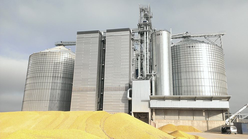 FRAME products are engineered for you.  Wheat silos in Poland. Image