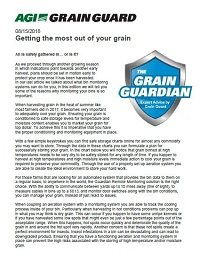 Getting the most out of your grain