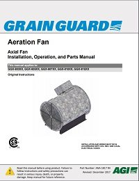 Axial Flow Aeration Fan (English)