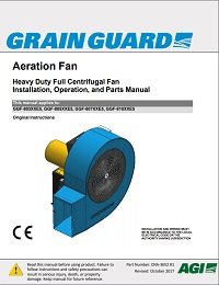 Full Centrifugal Heavy-Duty Aeration Fan (CE)