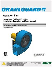 Full Centrifugal Heavy-Duty Aeration Fan (CSA) (English)