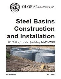 Steel Basins Construction and Installation