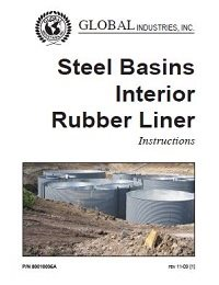 Steel Basins Interior Rubber Liner Instructions