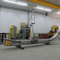 Two Deck Drag Conveyors