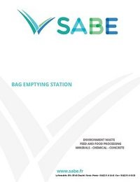 Bag Emptying Station Product Sheet