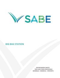 Big Bag Station Product Sheet