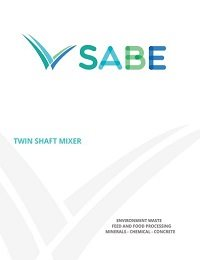 Twin Shaft Mixer Product Sheet
