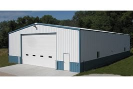 50' x 80' Agricultural Steel Building