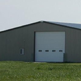 60' x 100' Agricultural Steel Building