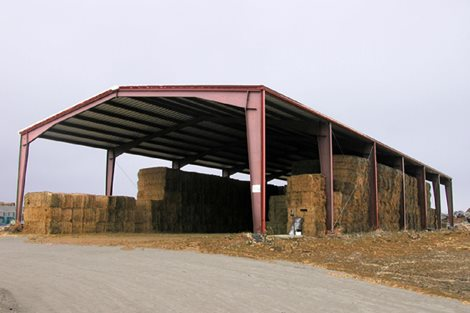TrailBoss Building - Bode Hay