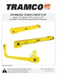 En-Masse Chain Conveyor – Assembly, Operation, Maintenance (English)