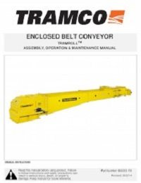 Tramroll Enclosed Belt Conveyor – Assembly, Operation, Maintenance (English)