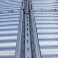 Stiffeners: Roll-formed deep, galvanized lipped hat sections for maximum efficiency.
