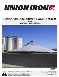 Temp-Stor Containment Wall Assembly & Operation - International
