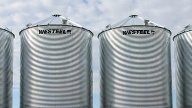 Unstiffened Grain Bins