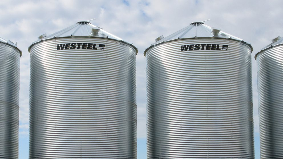 Westeel Unstiffened Grain Bins | AGI