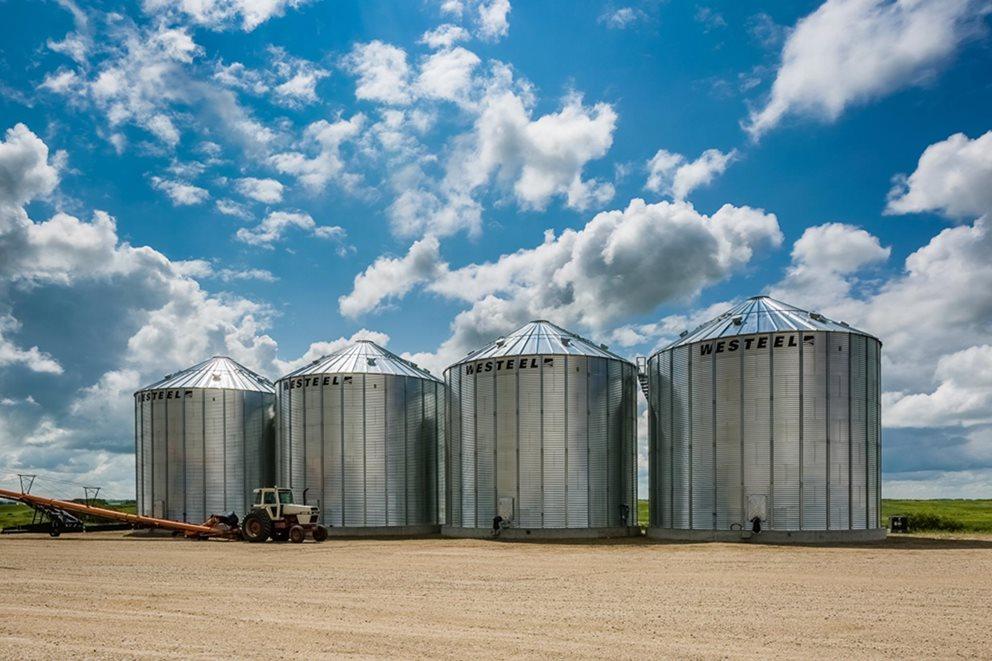 Westeel Stiffened Grain Bins | AGI
