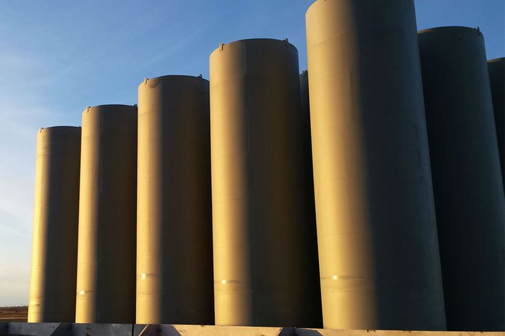 Westeel ULC Vertical Storage Tanks Image