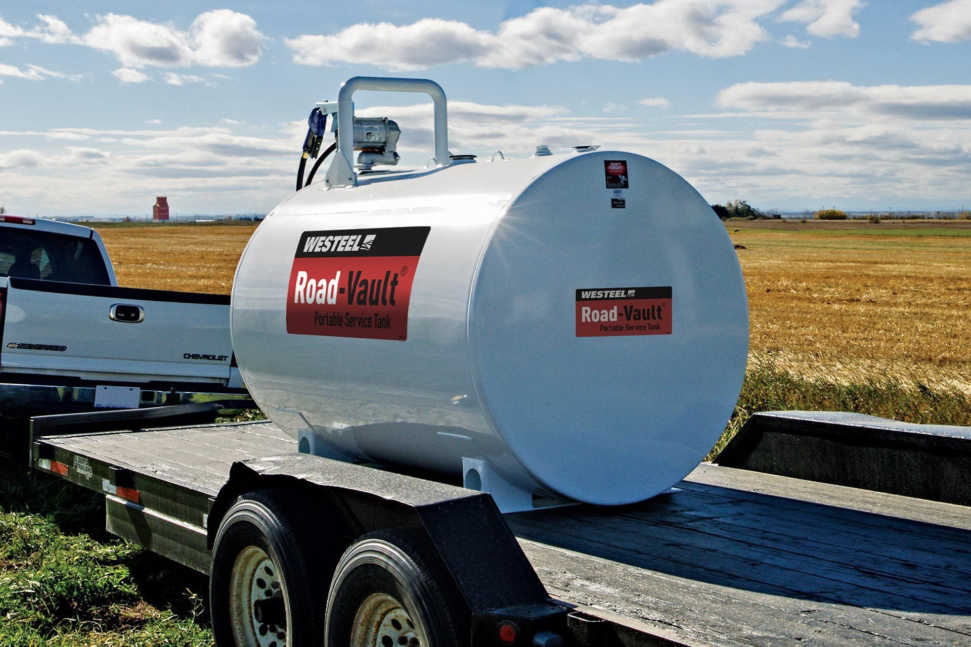 Road-Vault® Mobile Service Tanks