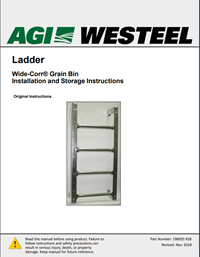 198925 Wide Corr Outside Ladder Installation Instructions