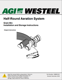 198858 Aeration Half Round Installation Instructions