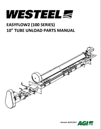 "Parts Manual - Farm EasyFlow2 Tube Bin Unload (10"") (100 Series)"