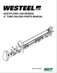 "Parts Manual - Farm EasyFlow2 Tube Bin Unload (8"") (100 Series)"