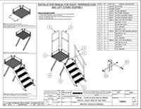 4 Step Stairs Installation Manual for 5000 L RECYCOIL and Fuel Vault Tanks