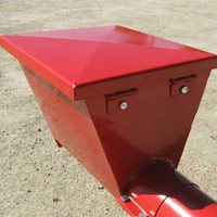 Utility Augers - Optional Steel Hopper