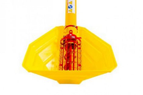 WR & W Series Auger - poly hopper (optional)