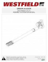 Galvanized Utility Auger - Assembly & Operation