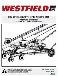 STX Heavy-Duty Self-Propelled Auger Kit - Assembly & Operation
