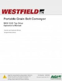 WCX1335 Top Drive Belt Conveyor – Operation