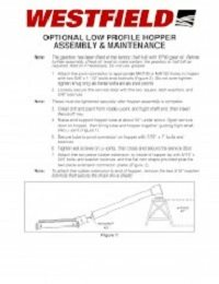 MK100 & MK130 Optional Lower Profile Hopper Assembly