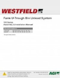 Farm U-Trough Bin Unload System – Assembly