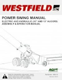 "Power Swing (Electric and Hydraulic) (10"" & 13"") Assembly & Operation"
